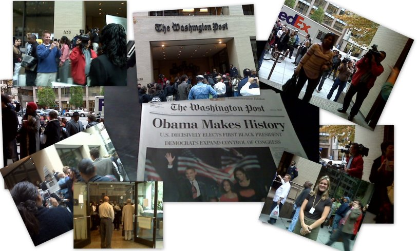 The Washington Post - Obama Makes History