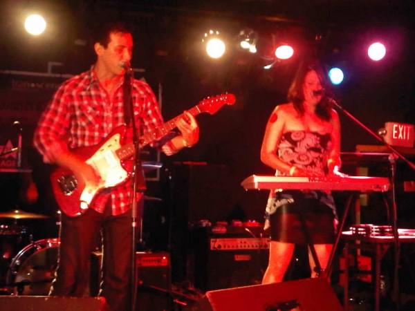 Band: Lazer Unit rocking at NStreetVillage Fundraiser
