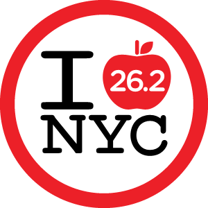 NYC Marathon Foursquare badge