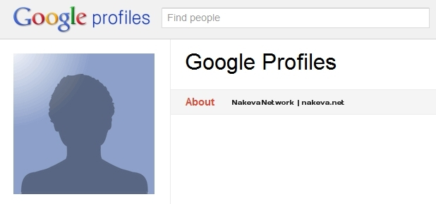 Google Profile Ghost Photo