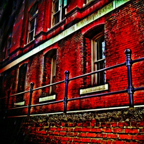 In Love with red brick