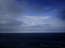 Ocean Evening Blue by Nakeva