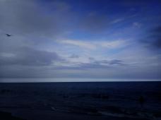 Ocean Evening Blue by Nakeva